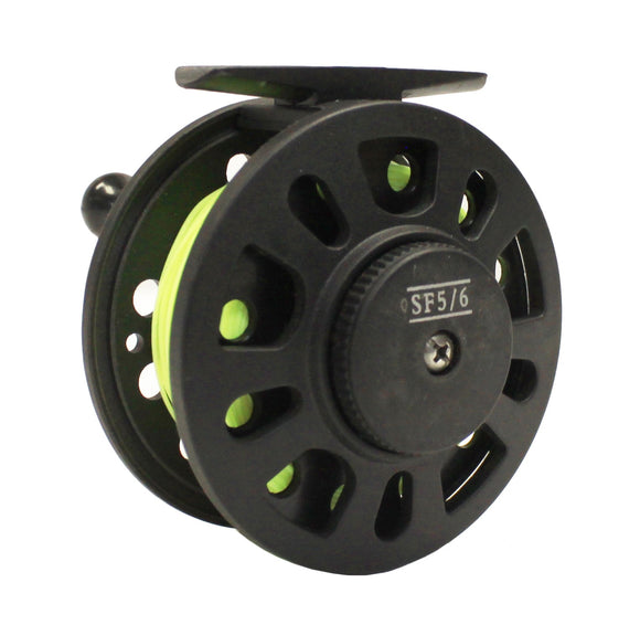 Shu-Fly 5/6 Graphite Fly Reel
