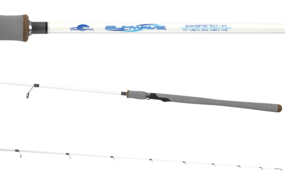 Tsunami Slimwave Slow Pitch Spinning Rod