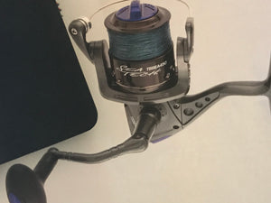 Tsunami Sea Tech Spinning Reel with Braided Line
