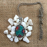 Blue Dream Micro Mosaic Necklace