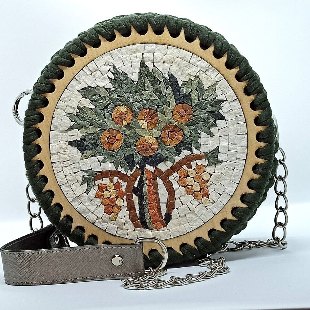 Life Tree Mosaic Bag