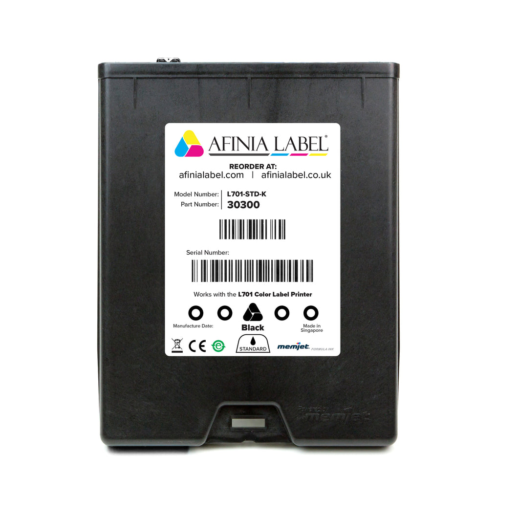 Afinia Label L701 Ink Cartridge - BLACK