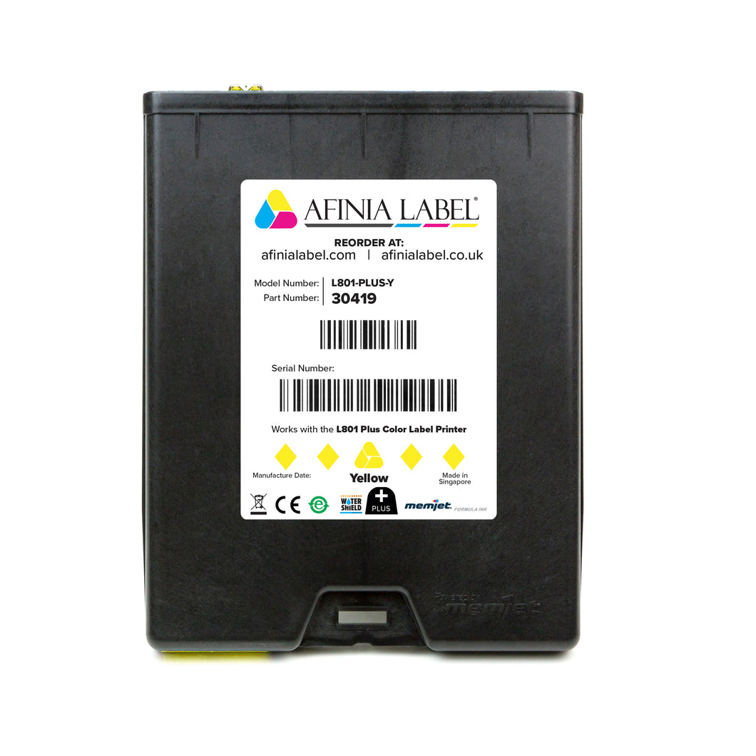 Afinia Label L801 PLUS Ink Cartridge - YELLOW