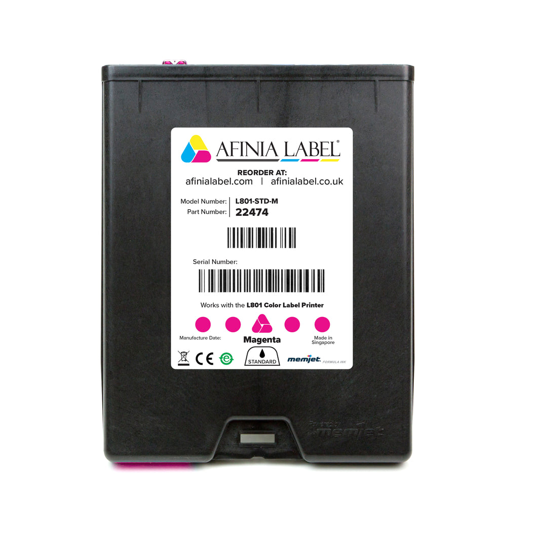 Afinia Label L801 Standard Ink Cartridge - MAGENTA