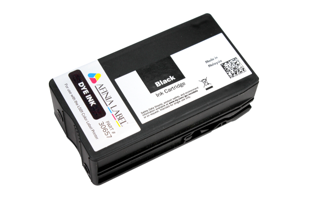 Afinia Label L501 and 502 Ink Cartridge - BLACK DYE