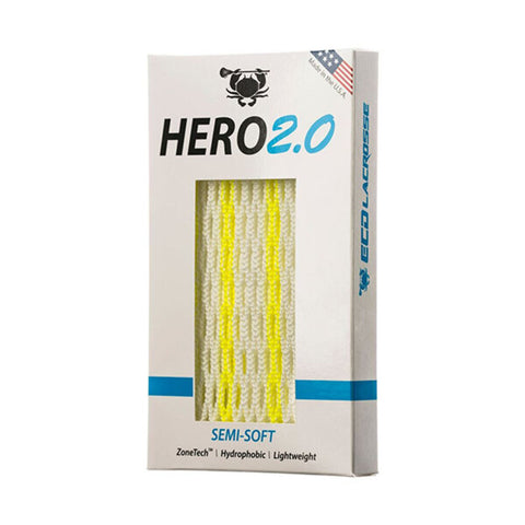 ECD Hero 2.0 Semi-Soft Mesh Neon Yellow Striker