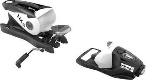 Look NX10 Ski Bindings 83mm Black/White