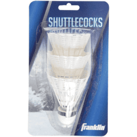 3-pack Franklin Badminton Shuttlecocks