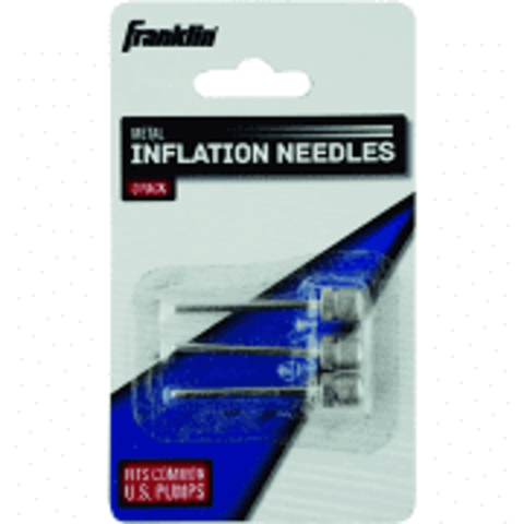 Franklin Metal Inflation Needles for Ball 3-Pack