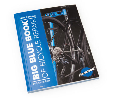 Park Tool BBB-4 Big Blue Book of Bicycle Repair - 4th Edition