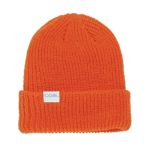 The Stanley Soft Knit Cuff Beanie - Orange