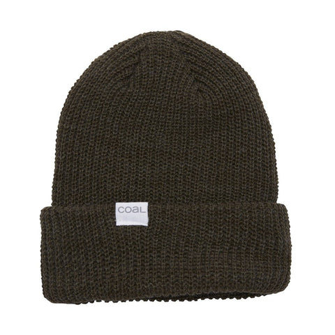 The Stanley Soft Knit Cuff Beanie - Heather Olive