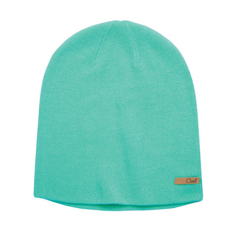 The Julietta Jersey Knit Snowboard Beanie - Peppermint