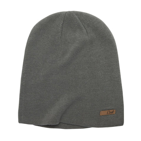 The Julietta Jersey Knit Snowboard Beanie - Charcoal