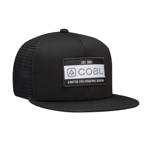 The Vernon Roomy Trucker Cap - Black