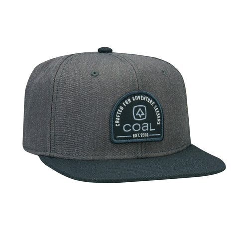 The Midvale Wool Snapback Cap - Charcoal