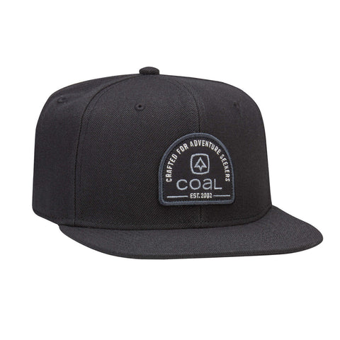 The Midvale Wool Snapback Cap - Black