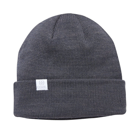 The FLT Recycled Polylana Knit Beanie - Charcoal