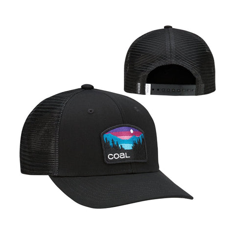 The Hauler Low Profile Trucker Cap - Black