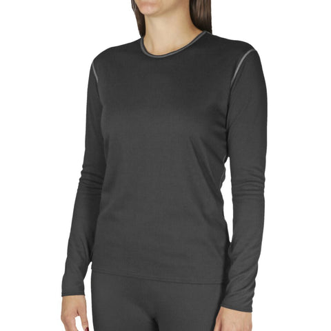 Hot Chillys Bi-Ply Top - Black - Women's Small