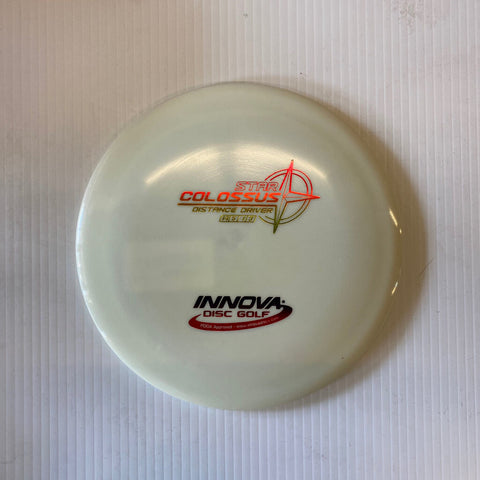 168 INNOVA COLOSSUS STAR DISTANCE DRIVER WHITE