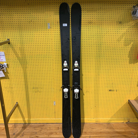 193cm Nordica Helldorado Skis w/binding