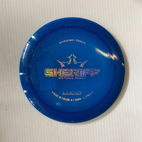 173 DYNAMIC DISCS SHERIFF LUCID DISTANCE DRIVER BLUE