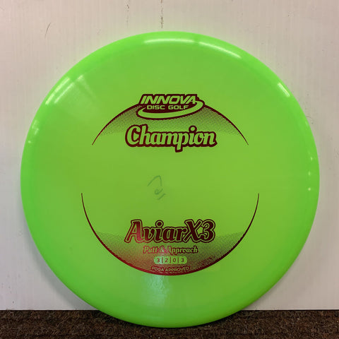 167 INNOVA CHAMPION AVIARX3 PUTTER - GREEN