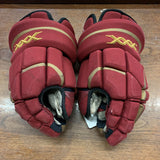 "14"" Bauer Vapor XXX Denver University Gloves"