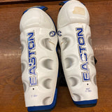 "12"" Easton X-Treme Shin Guards - White"