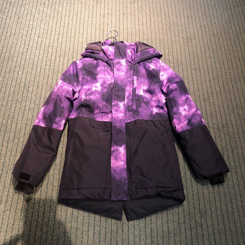Youth Watercolor Purple Jacket - Large (14/16)