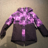 Youth Watercolor Purple Jacket - XL (18)