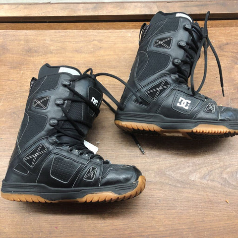 8 DC Phase Snowboard Boots - Black