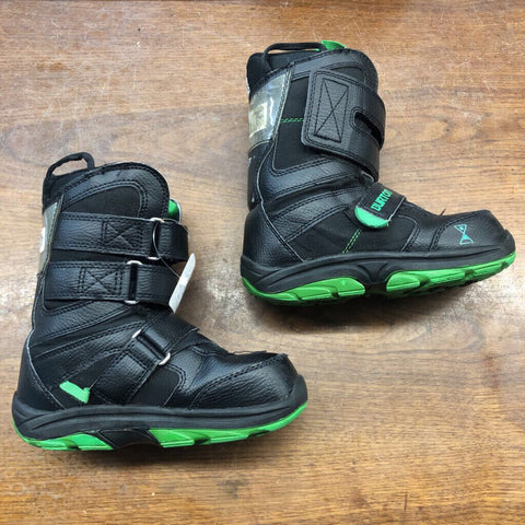 2 Burton Progression XS Junior Snowboard Boots