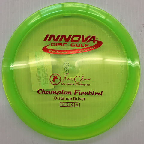 173-175 Innova Champion Firebird Distance Driver