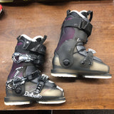 21.5 Dalbello Lotus Krypton Ski Boots - Black/Purple
