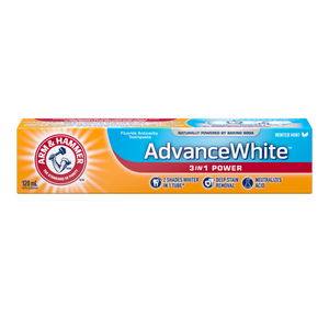 TOOTHPASTE ARM&H CARE X-WHITENING TRIPLE 120ML - Fall River Guardian
