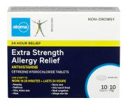 Load image into Gallery viewer, Atoma Cetirizine 10mg Tablets Extra Strength - Fall River Guardian