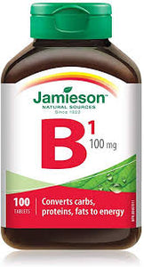 Jamieson Vitamin B1 100mg - Fall River Guardian