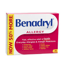 Benadryl Regular Strength - Fall River Guardian