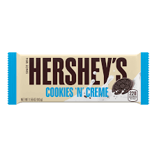 Herseys Cookies and Cream Chocolate Bar - Fall River Guardian