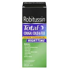Robitussin Cough Control XST or Cough & Cold Flu Nighttime - Fall River Guardian