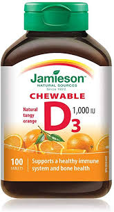 Jamieson Vitamin D3 1000IU - Fall River Guardian