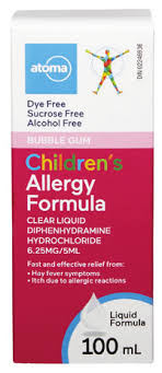 Atoma Children's Allergy Formula - Fall River Guardian