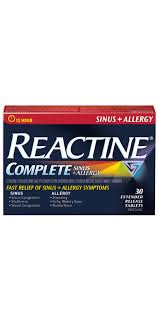 Reactine Complete Sins + Allergy - Fall River Guardian