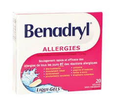 Benadryl Allergy Liquid-Gels - Fall River Guardian