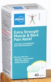ATOMA MUSCLE&BACK ACET XST CPLT - Fall River Guardian