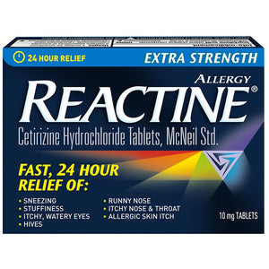 Reactine 24 Hour Relief 10 tablets - Fall River Guardian