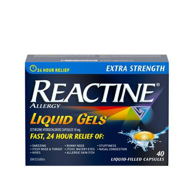 Reactine 24 Hour Relief Liquid Gels - Fall River Guardian
