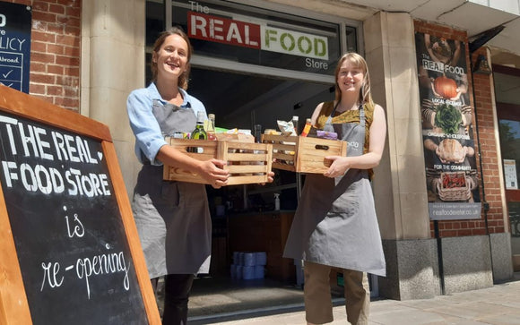 Community-owned Real Food Store re-opens, but not as you know it
